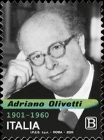 [The 60th Anniversary of the Death of Adriano Olivetti, 1901-1960, type EOW]