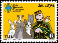 [The 150th Anniversary of the Institution of the National Animal Protection Body, type EPO]