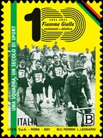 [The 100th Anniversary of the Athletics Club of the Flames of the Guardia di Finanza, type EPW]