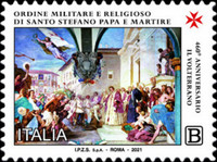 [The 460th Anniversary of the Founding of the Military and Religious Order of St. Stefano, Pope and Martyr, type EQC]