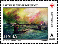 [The 450th Anniversary of the Battle of Lepanto, type EQD]