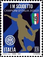 [Inter Milan Scudetto - Champions of Italy 2020/21, type EQX]