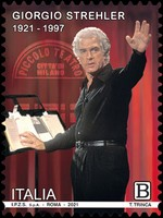 [The 100th Anniversary of the Birth of Giorgio Strehler, 1921-1997, type EQZ]
