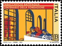[The 100th Anniversary of the Tobacco Factory in Battipag, type ERF]