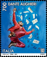 [The 700th Anniversary of the Death of Dante Alighieri, 1265-1321, type ERL]