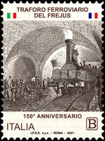 [The 150th Anniversary of the Inauguration of the Frejus Railway Tunnel, type ERM]