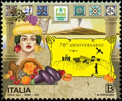 [The 70th Anniversary of the Creation of the Coldiretti Sicily National Federation, type ERO]