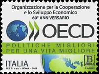 [The 60th Anniversary of the Organization of Economic Cooperation and Development, type ERQ]