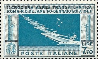 [Airmail - Seaplanes and the Southern Cross Constellation, Typ FA]