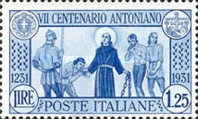 [The 700th Anniversary of the Death of St. Antonius, Typ FG]