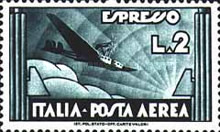 [Airmail Express Stamp, Typ HI1]