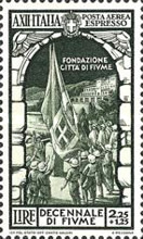 [Airmail Express Stamps - The 10th Anniversary of Annexation of Fiume, Typ IJ1]