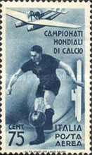 [Airmail - Football World Cup - Italy, Typ IO]