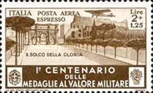 [Airmail Express Stamps - The 100th Anniversary of Military Medal of Valor, Typ JJ]