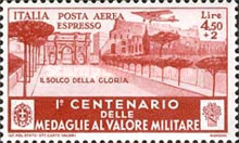 [Airmail Express Stamps - The 100th Anniversary of Military Medal of Valor, Typ JJ1]