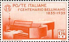 [The 100th Anniversary of the Death of Bellini, Typ JW]
