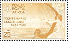 [Airmail - The 100th Anniversary of the Death of Bellini, Typ JY]