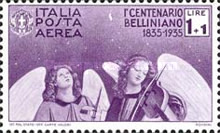 [Airmail - The 100th Anniversary of the Death of Bellini, Typ JZ]