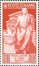 [The 2000th Anniversary of the Birth of Emperor Augustus Caesar, Typ KW]