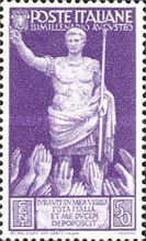 [The 2000th Anniversary of the Birth of Emperor Augustus Caesar, Typ KZ]