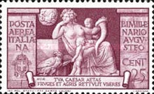 [Airmail - The 2000th Anniversary of the Birth of Emperor Augustus Caesar, Typ LE]