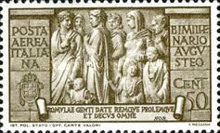 [Airmail - The 2000th Anniversary of the Birth of Emperor Augustus Caesar, Typ LF]