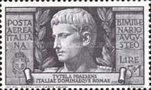 [Airmail - The 2000th Anniversary of the Birth of Emperor Augustus Caesar, Typ LI]