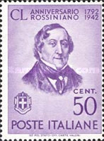 [The 150th Anniversary of the Birth of Rossini, type MM]