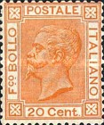 [king Victor Emmanuel II - New Colours, type O1]