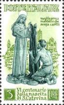 [The 600th Anniversary of the Birth of St. Catherine of Siena, Typ PB]