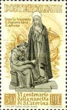 [The 600th Anniversary of the Birth of St. Catherine of Siena, Typ PE]