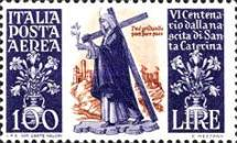 [Airmail - The 600th Anniversary of the Birth of St. Catherine of Siena, Typ PF]