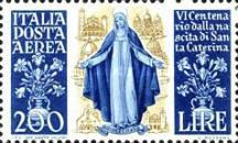 [Airmail - The 600th Anniversary of the Birth of St. Catherine of Siena, Typ PG]