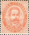 [King Umberto I - New Value, Typ Q6]