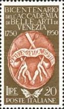 [The 200th Anniversary of the Founding of the Academy of Fine Arts, Venice, type RG]