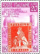 [The 100th Anniversary of Tuscany´s First Stamps, Typ RP]