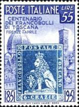[The 100th Anniversary of Tuscany´s First Stamps, type RP1]
