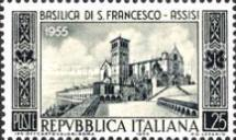 [The 700th Anniversary of the Basilica in Assisi, Typ UV]