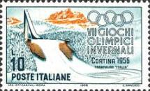 [Winter Olympic Games - Cortina d'Ampezzo, Italy, Typ VF]