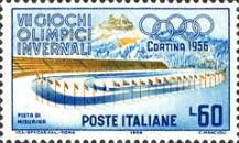 [Winter Olympic Games - Cortina d'Ampezzo, Italy, Typ VI]