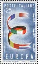 [EUROPA Stamps, Typ VX]