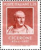 [The 2000th Anniversary of the Death of Cicero, Typ WA]