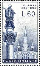 [The 100th Anniversary of the Apparition of the Virgin Mary at Lourdes, Typ WH1]