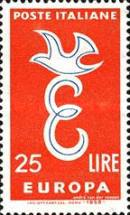 [EUROPA Stamps, Typ WR]