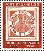 [The 100th Anniversary of the Stamps of Naples, Typ WS]