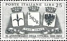 [The 40th Anniversary of Italy's Victory in World War I, Typ WW]