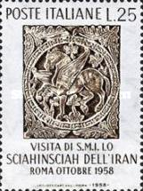 [Visit of the Shah of Iran to Italy, Typ WY]