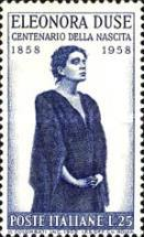 [The 100th Anniversary of the Birth of Eleonora Duse, Typ WZ]