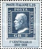 [The 100th Anniversary of the Stamps of Sicily, Typ XC]