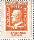 [The 100th Anniversary of the Stamps of Sicily, Typ XD]